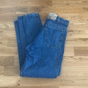 Vintage 80's Levi's Orange Tab Relaxed Denim Jeans